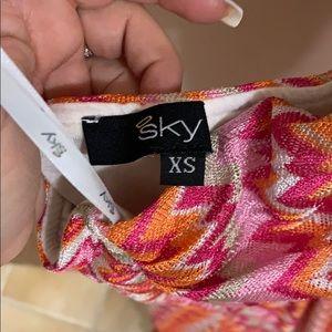 Sky Dresses - Sky maxi dress